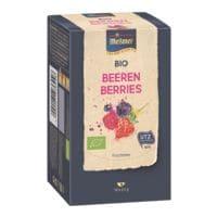 Meßmer Bio Früchtetee »Beeren« Tassenportion, Papierkuvert, 18er-Pack