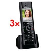 AVM 3x Schnurloses Telefon »FRITZ!Fon C5«
