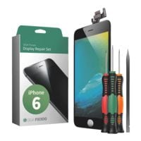 GIGA Fixxoo Smartphone Display Reparaturset für iPhone 6 schwarz