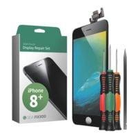 GIGA Fixxoo Smartphone Display Reparaturset für iPhone 8 Plus schwarz