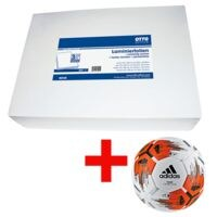 OTTO Office 300 Stück Laminierfolien A4 125 mic inkl. adidas Fußball »Team Top Replique«