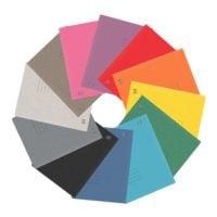 Oxford 25er-Pack Schnellhefter »Top File +« 12 Farben sortiert, Fassungsvermögen 200 Blatt