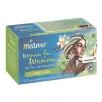 Meßmer Kräutertee »Women for Women Minze-Vanille« Tassenportion 18er-Pack