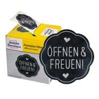 ZDesign Promotion-Etiketten »Öffnen & Freuen!«