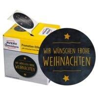 ZDesign Promotion-Etiketten »Frohe Weihnachten«