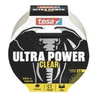 Montageband tesa Ultra Power Clear, 48 mm breit, 20 Meter lang