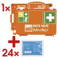 SÖHNGEN Erste-Hilfe-Koffer »QUICK-CD Schule« inkl. 24x Kälte-Sofortkompresse klein