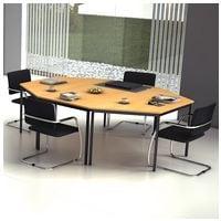 HAMMERBACHER »Melbourne« Tisch-Set für Konferenz- und Besprechungsräume