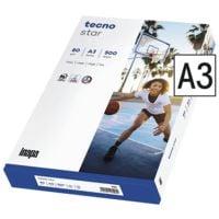 Kopierpapier A3 Inapa tecno Star - 500 Blatt gesamt, 80g/qm