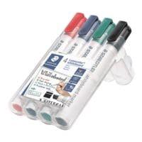 Staedtler 4er-Pack Whiteboard-Marker »Lumocolor 351 B«