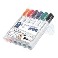 Staedtler 6er-Pack Whiteboard-Marker »Lumocolor 351 B«
