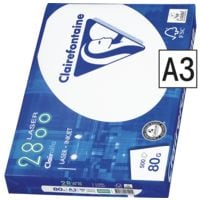 Multifunktionales Druckerpapier A3 Clairefontaine 2800 - 500 Blatt gesamt