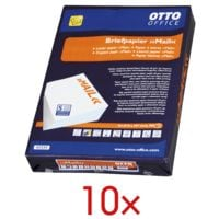 10x Multifunktionales Briefpapier A4 OTTO Office Premium MAIL - 5000 Blatt gesamt