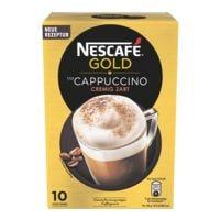 Nescafe Cappuccino im Portionsbeutel