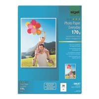 Sigel Foto Inkjet-Papier »Everyday Plus« IP714 A4 170 g/m² 50 Blatt