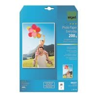 Sigel Foto Inkjet-Papier »Everyday Plus« IP710 A4 200 g/m² 20 Blatt