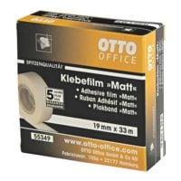 OTTO Office Premium Klebeband Matt, transparent/stark klebend, 1 Stück, 19 mm/33 m