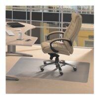Bodenschutzmatte für Teppichböden, Vinyl, Rechteck 120 x 150 cm, Floortex