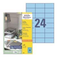 Avery Zweckform 2400er-Pack Farbige Etiketten