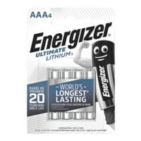 Energizer 4er-Pack Batterien »Ultimate Lithium« Micro / AAA / FR3