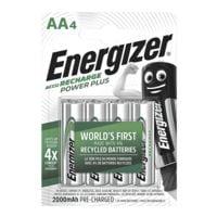 Energizer Akkus Mignon / AA / HR6 (4 Stk - 2000 mAh)