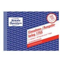 Avery Zweckform Formularbuch »Einnahme-/Ausgabebeleg mit Dokumentendruck« (2-fach)