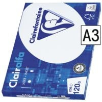Multifunktionales Druckerpapier A3 Clairefontaine 2800 - 250 Blatt gesamt