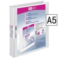 Veloflex Präsentationsringbuch A5 (4 Ringe) bis 250 Blatt »VELODUR® 41561«