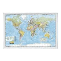 Franken Weltkarte »KA600WP«
