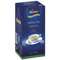 Meßmer Grüner Tee »Profi Line« Tassenportion, Aromakuvert, 25er-Pack
