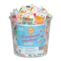 Frigeo 100er-Pack Traubenzucker-Lollys