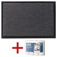 Fußmatte »Mars« 90x120 cm inkl. GRATIS 4 Küchenrollen »Premium«