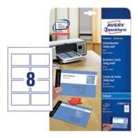 Avery Zweckform Visitenkarten C32015-10