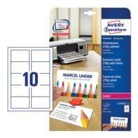 Avery Zweckform Visitenkarten C32026-25