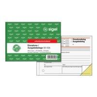 Sigel Formularbuch »Einnahme-/Ausgabebeleg mit Dokumentendruck« SD026