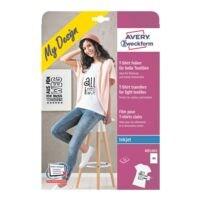 Avery Zweckform T-Shirt-Folien für helle Textilien