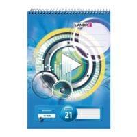 Landré Spiral-Notizblock, A7, liniert, 40 Blatt