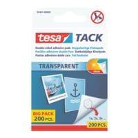 tesa Doppelseitige Klebepads »Big Pack« 59401