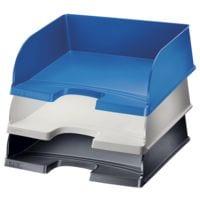 LEITZ Briefablage 5219, A4+ quer Polystyrol, stapelbar bis 10 Stück