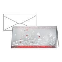 Weihnachtskarte SIGEL Winter Breeze, DIN lang, mit Umschlag, 10 Stück
