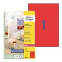 Avery Zweckform 25er-Pack Neon-Etiketten
