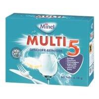 Minel Geschirr-Reiniger-Tabs »Multi 5«