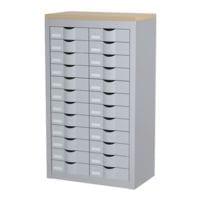 Paperflow Schubladenschrank - 12 Reihen je 2 Schübe