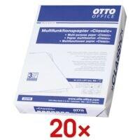 20x Multifunktionales Druckerpapier A4 OTTO Office Classic - 10000 Blatt gesamt