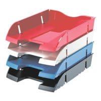helit Briefablage the green deck, C4 PET, stapelbar bis 30 Stück