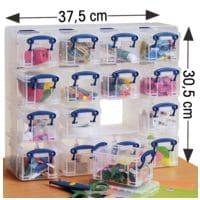 Really Useful Box 16er-Set Ablageboxen 0,3 Liter