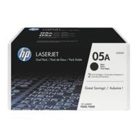 HP Doppelpack Druckkassetten »HP CE505D« 05A