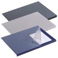 Durable Schreibunterlage - rechteckig - transparente Abdeckung