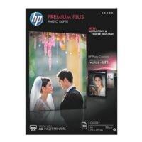 HP Fotopapier »HP premium plus photo paper CR674A« A4 50 Blatt