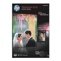 HP Fotopapier »HP premium plus photo paper CR695A« 10x15 50 Blatt